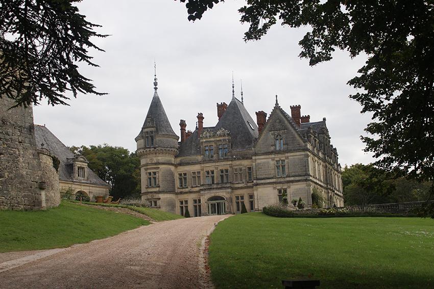 Château de la Bourdaisière.