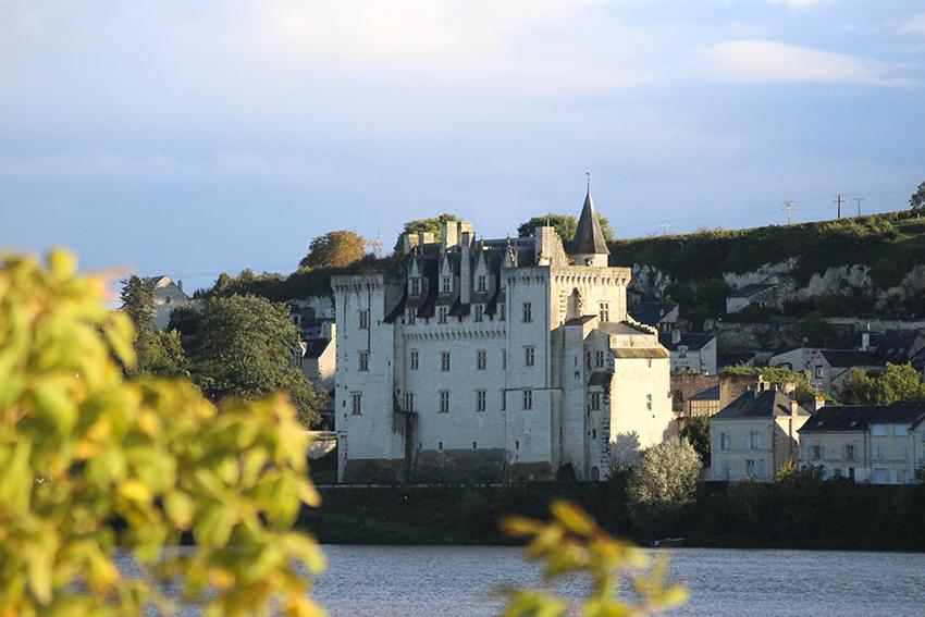 Câteaux de la Loire : château de Montsoreau.