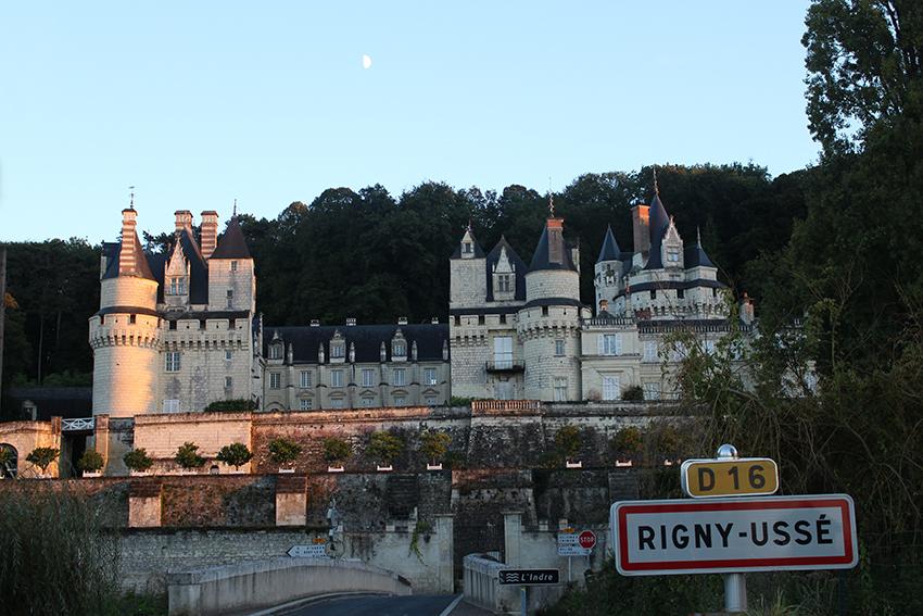 Châteaux de la Loire : château de Rigny-Ussé.