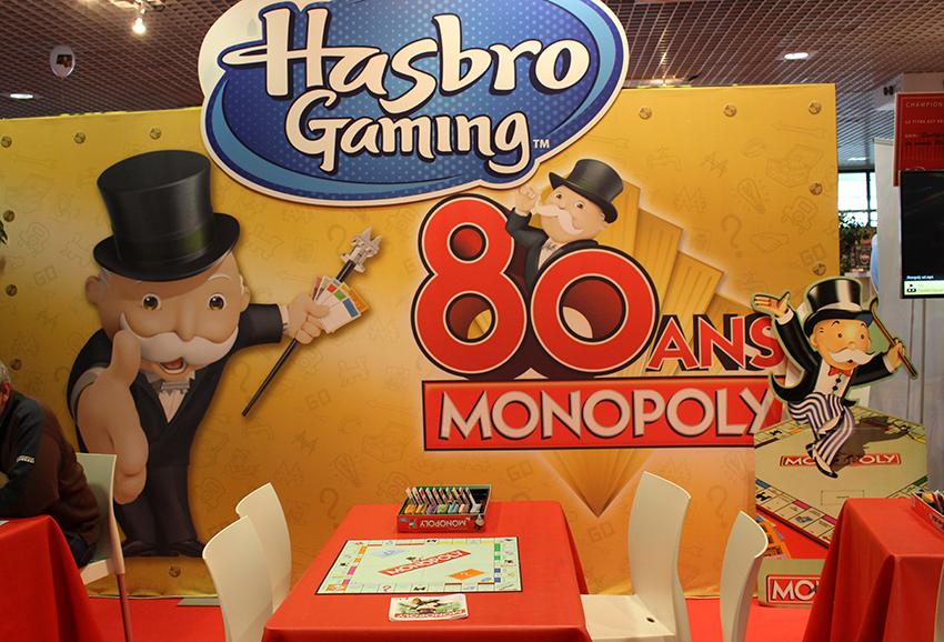 Espace Monopoly au Festival International des Jeux, à Cannes.