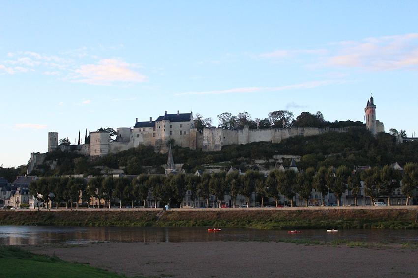 Châteaux de la Loire : forteresse royale de Chinon.