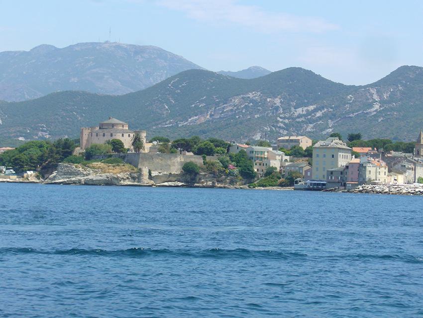 Citadelle de Saint-Florent, en Corse.