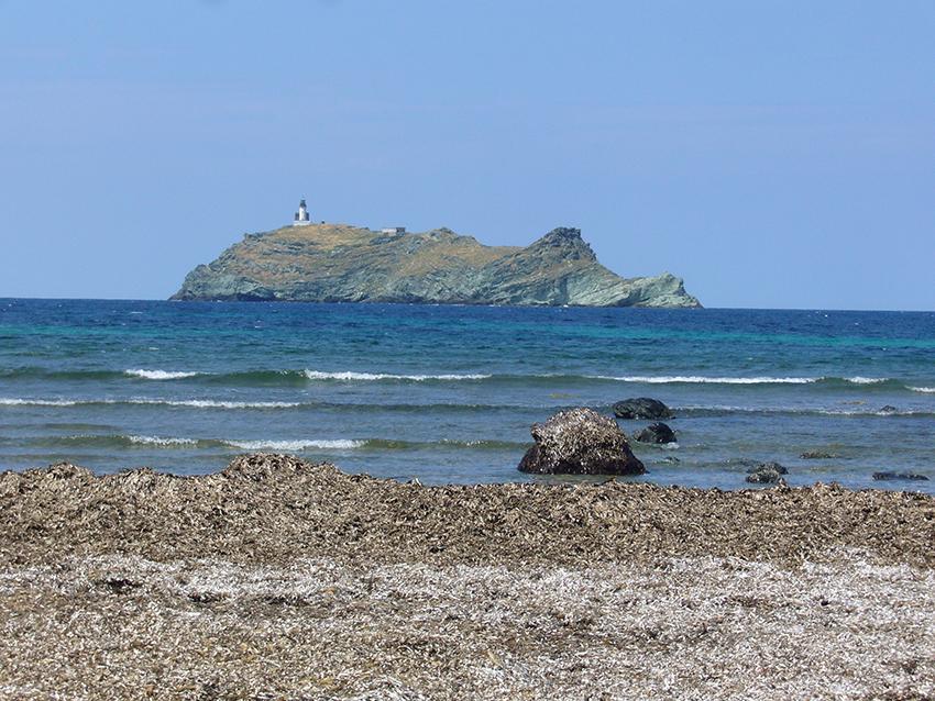 Île de la Giraglia, cap corse.