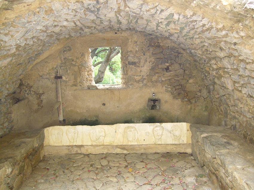 Lavoir de Pigna, village Corse.