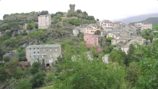Village de Nonza, cap corse.