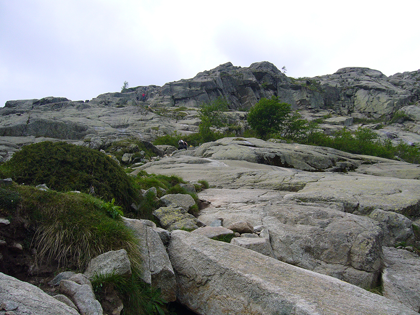 Randonnée corse difficile, vallée de la Restonica.
