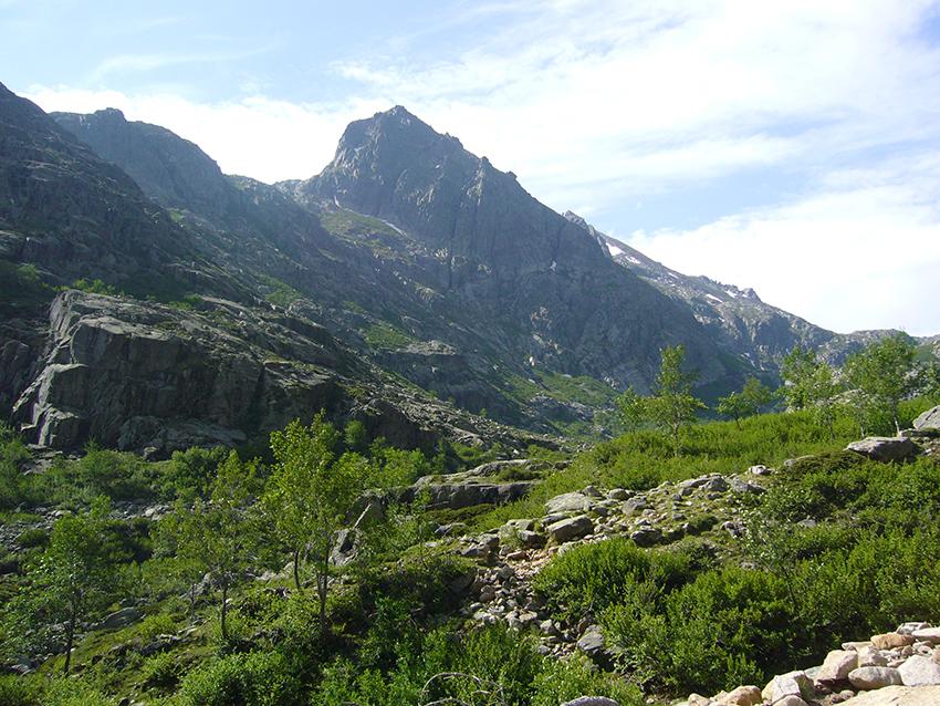 Randonnée dans la vallée de la Restonica.
