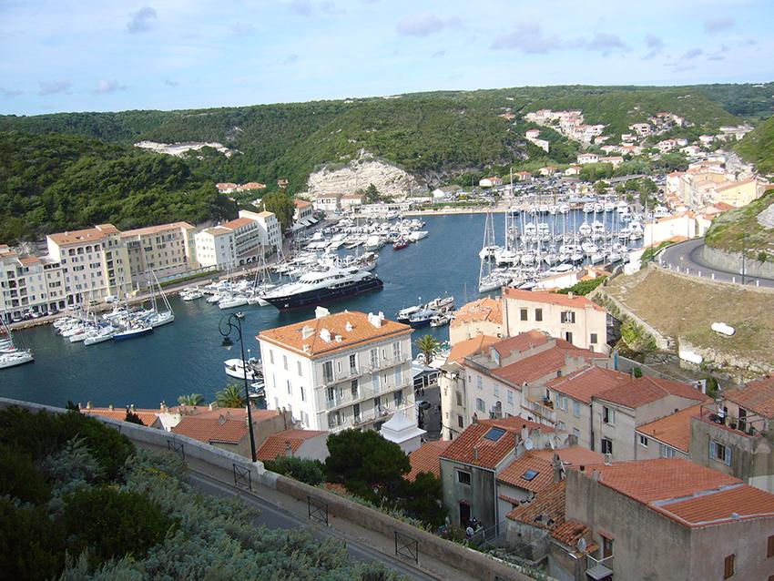 Port de Bonifacio.