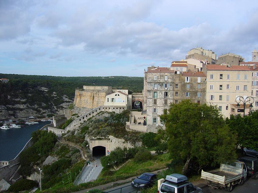 Bonifacio, en Corse.
