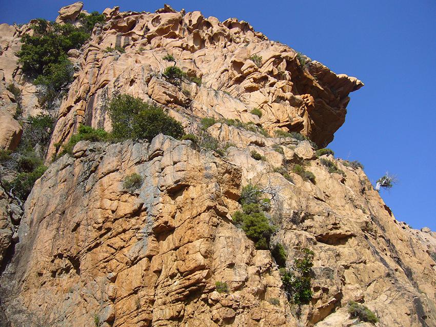 Calanques de Piana, en Corse.