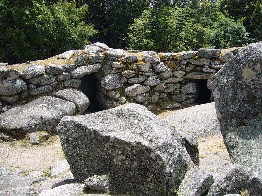 Site de Cucuruzzu, en Corse.