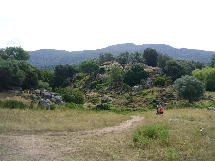 Filitosa, en Corse.
