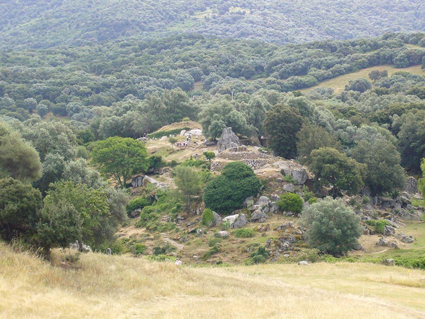 Site de Filitosa, en Corse.