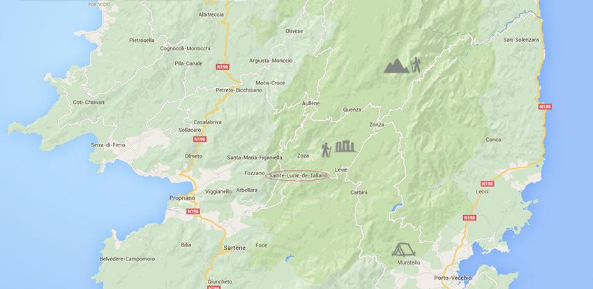 Notre voyage en corse, sixième jour : randonnée dans les aiguilles de Bavella, puis découverte des sites de Cucuruzzu et Capula.