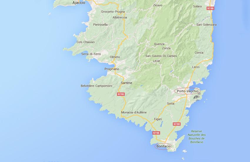 Notre voyage en corse, septième jour : découverte des villes de Porto-Vecchio et Bonifacio.