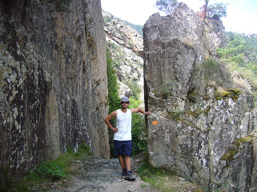 Randonnée dans les gorges de Spelunca.