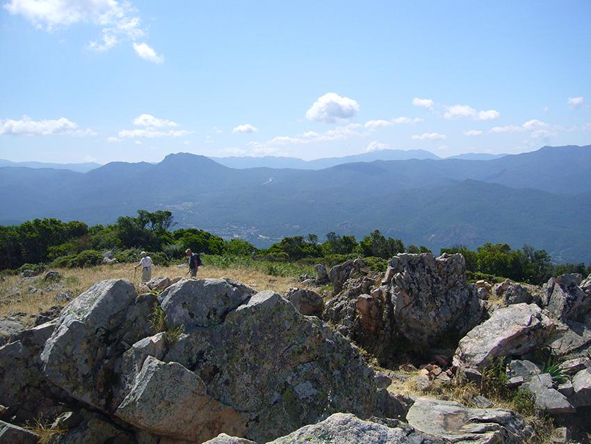 Randonnée Monte Aragnascu, en Corse.