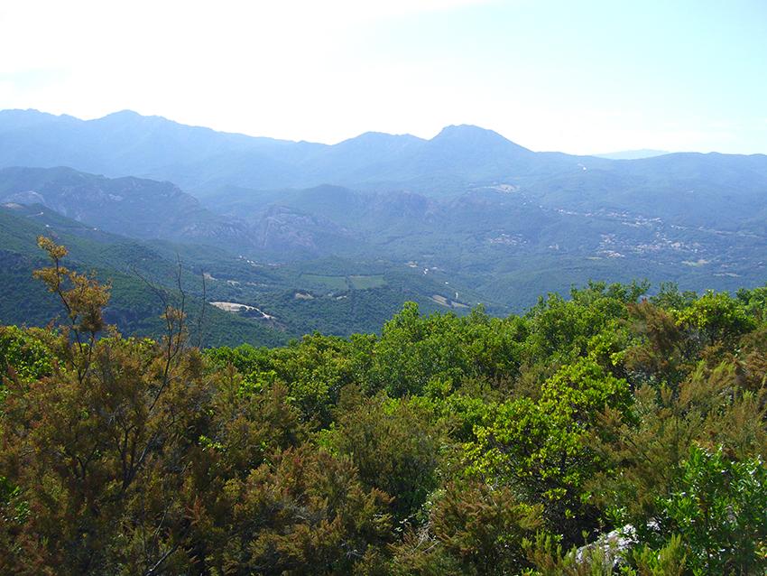 Monte Aragnascu, randonnée en Corse.