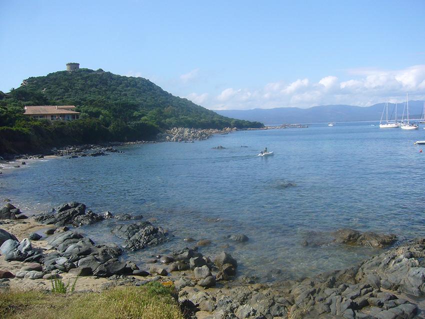 Campomoro, en Corse.