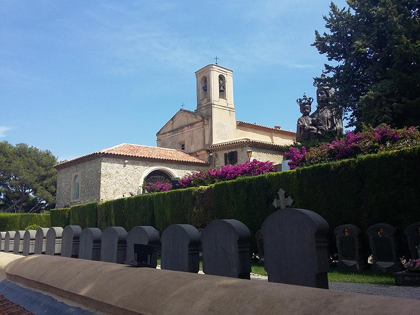 Cimetière et chapelle Saint-Hospice à Saint-Jean-Cap-Ferrat.