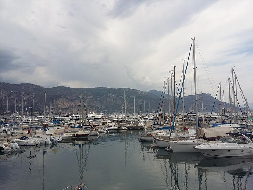 Port de Saint-Jean-Cap-Ferrat.