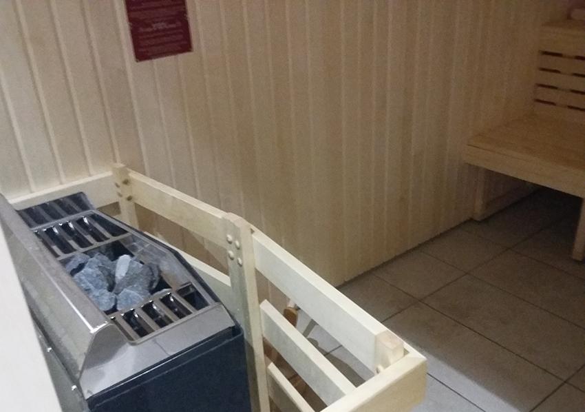 Pierres chaudes du sauna des thermes valvital à Berthemont-les-bains.
