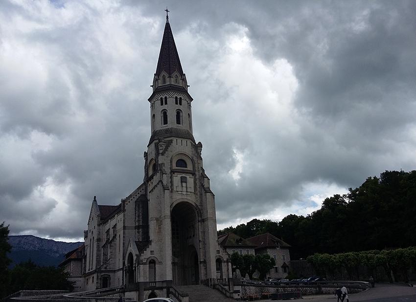 Basilique de la Visitation à Annecy.