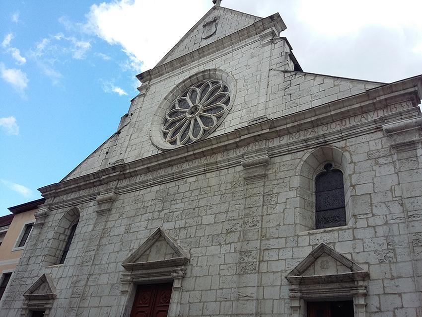 Cathédrale Saint-Pierre à Annecy.