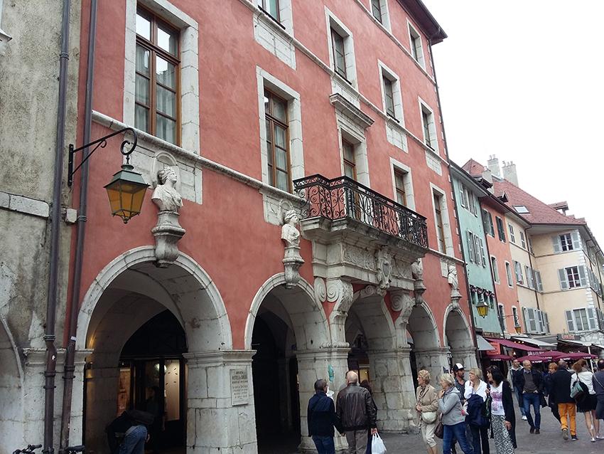 Hôtel particulier à Annecy.