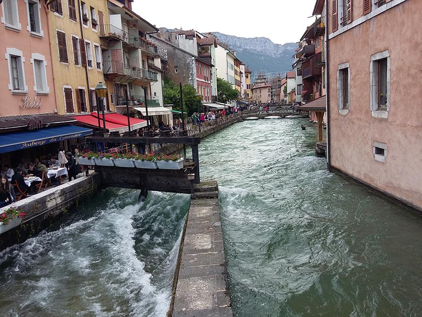 Canaux à Annecy.