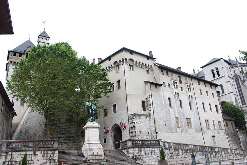 Château des Ducs de Savoie, à Chambéry.