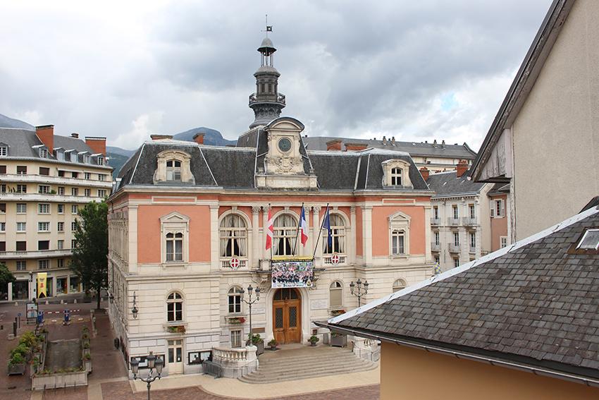 Hôtel de ville de Chambéry.