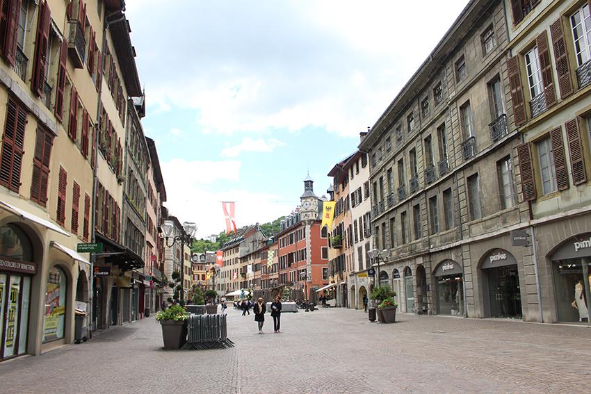 Vieille ville de Chambéry.