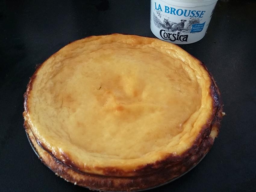 Ma recette du fiadone, gâteau au fromage de brousse corse.