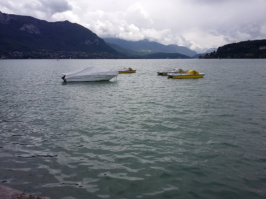 Lac d'Annecy.