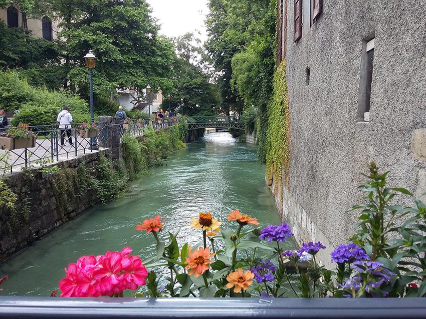 Canal à Annecy.