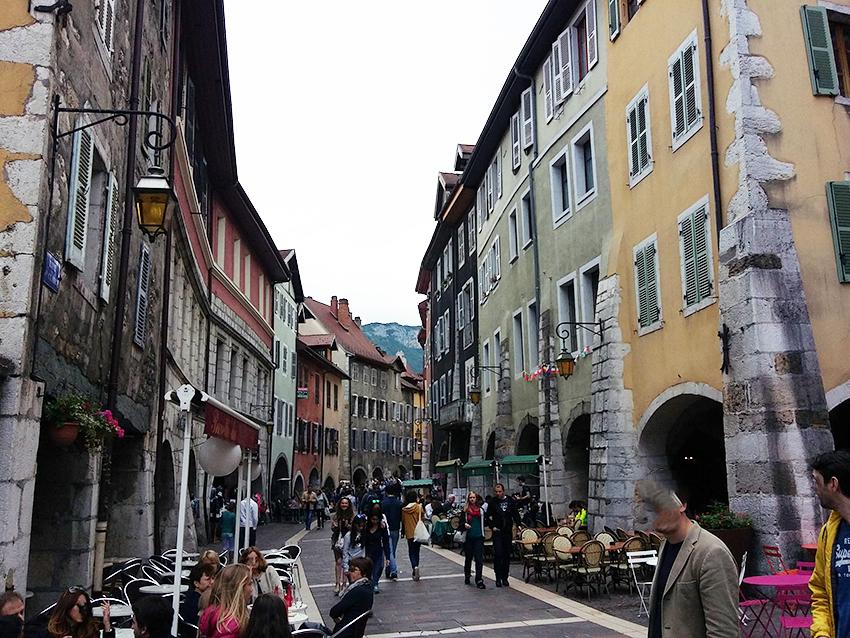 Vieille ville d'Annecy.