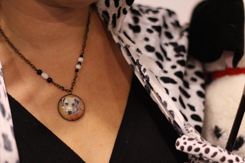Collier dalmatien par Divine et Féminine.