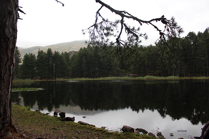 Lac de Creno, en Corse.