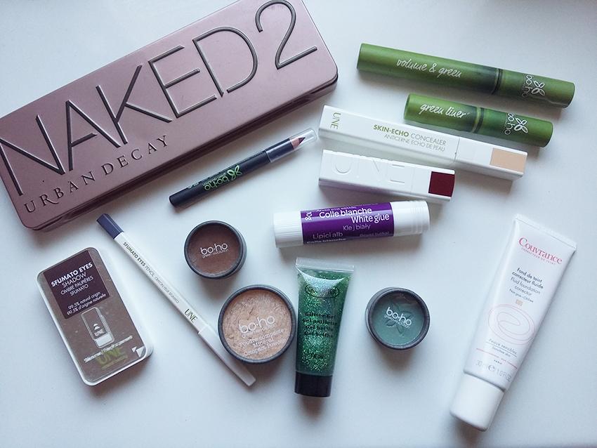 Produits maquillage peau sensible pour Halloween.