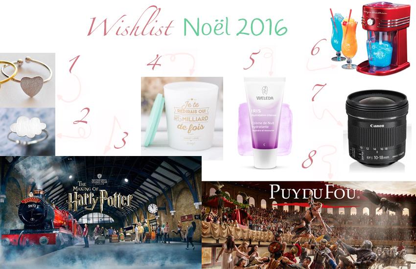 Ma wishlist Noël 2016.