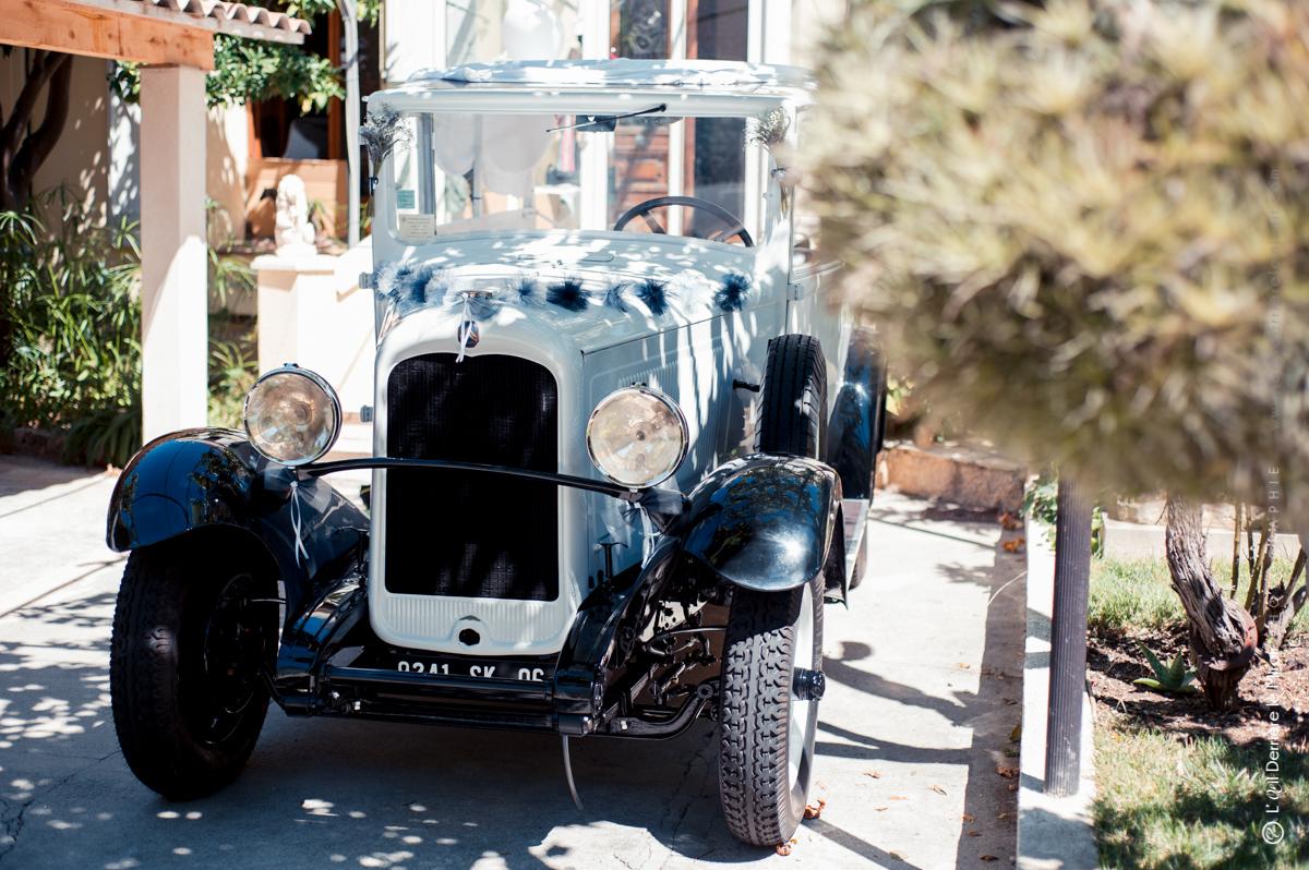"""Le """"tacot"""" de notre mariage, une Citroen C4 utilitaire 1932"""