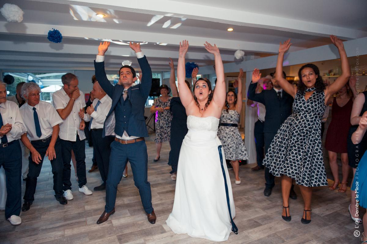 Mariage, animation danse, entrée des mariées.
