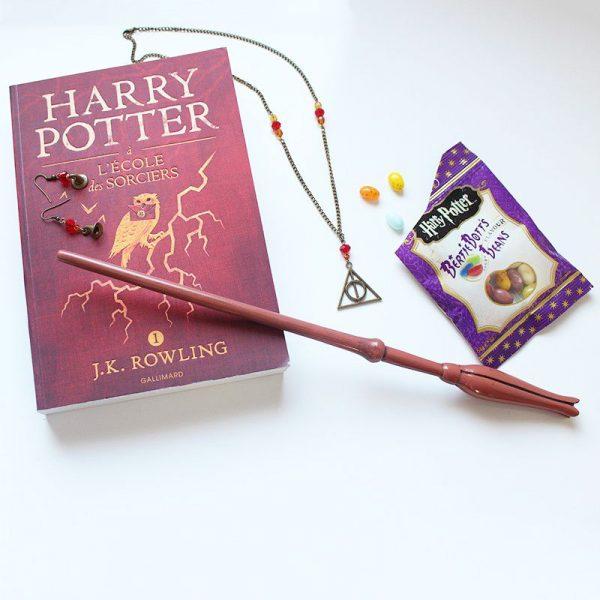 Bijoux reliques de la mort choixpeau bronze Harry Potter Gryffondor par Divine et Féminine.