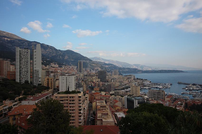 Panorama sur la Condamine de Monaco.