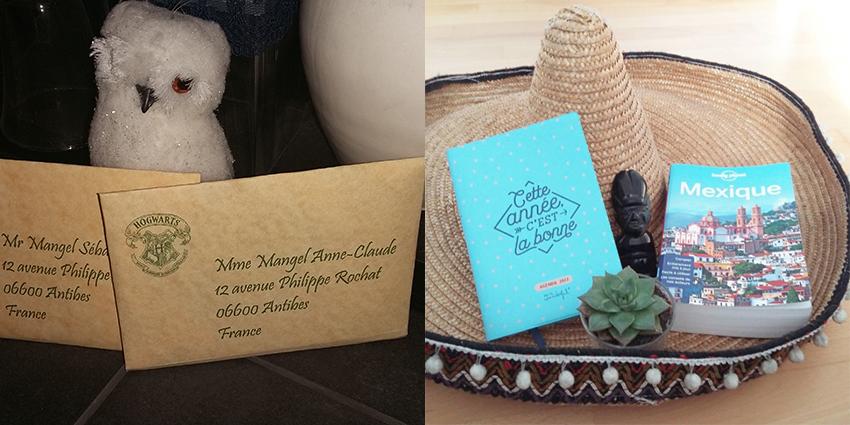 Tranches de bonheur : voyages prévus pour Poudlard et pour le Mexique.