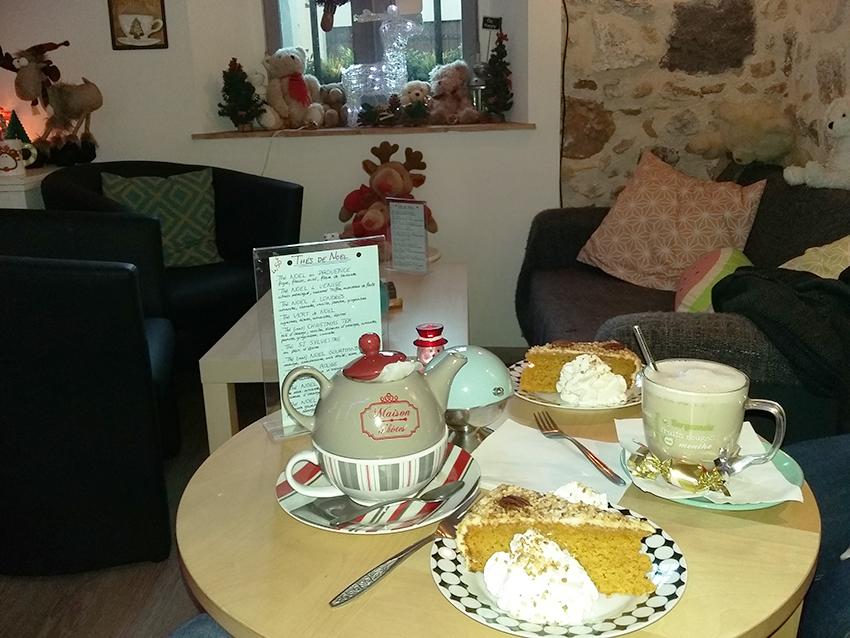 Salon de thé coffeshop le Gout Thé à Antibes.