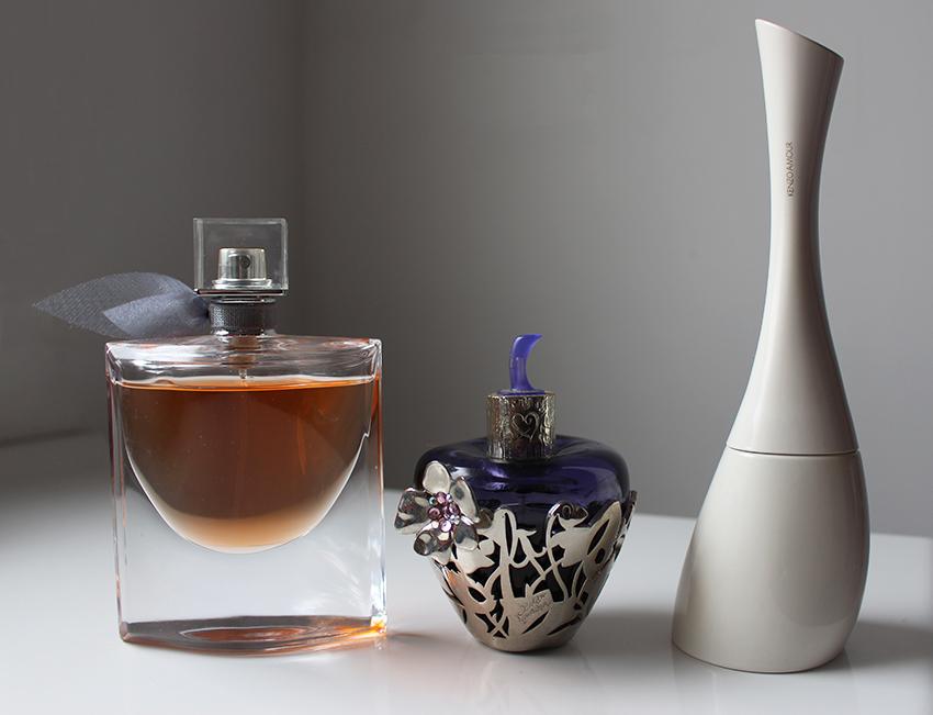 Mes parfums d'hiver : la parisienne d'Yves Saint Laurent, Lolita Lempicka et Kenzo Amour
