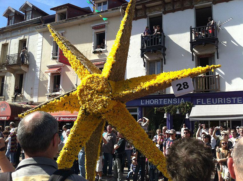Char étoile de la fête de la Jonquille à Gérardmer en 2013.