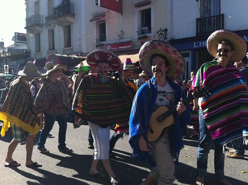 Mexicains de la fête de la Jonquille à Gérardmer en 2013.